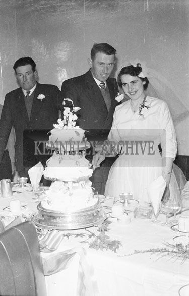 1956; A photo taken at the O'Sullivan Wedding from Baltygarron which took place in Churchill.