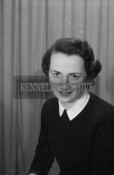 March 1956; A Studio Photo Of Vera Lawlor