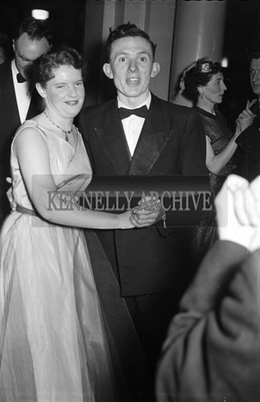 27th November 1956; People enjoying themselves at the Tralee Chemists Dance which took place in Killarney.