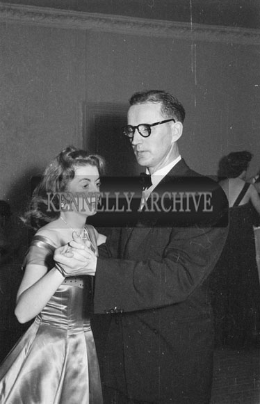 December 1956; People enjoying the night at a Dress Dance in the Lake Hotel, Killarney.