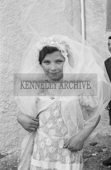 20th April 1956; A photo taken on Confirmation Day in Knocknagoshel.