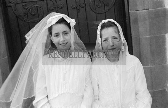 20th April 1956; A photo taken on Confirmation Day in Knocknagoshel.