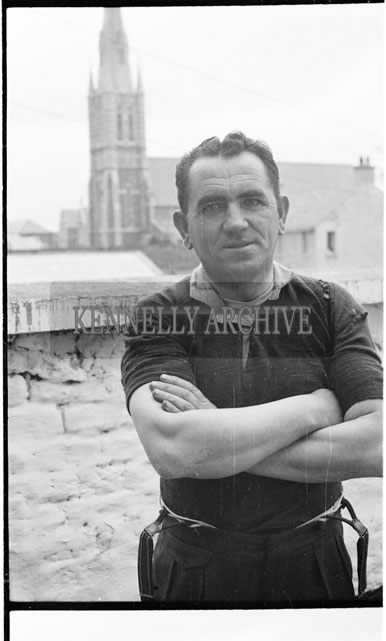 May 1956; A photo of Limerick Hurler Jack Parker.