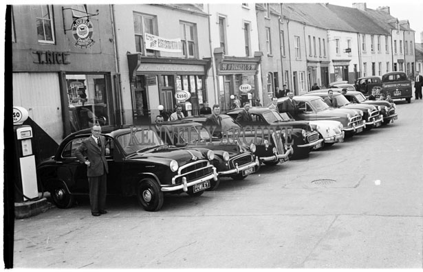 29th May 1956; A photo taken at the Kingdom County Fair Parade in Tralee.