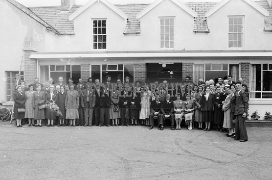 7th July 1956; A photo taken at the Leen Wedding reception which took place at the Meadowlands Hotel in Tralee.
