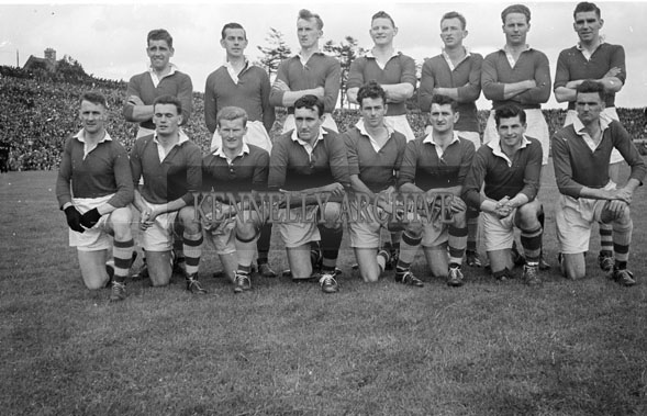29th July 1956; A Cork Team Photo taken before the Munster Final Replay in Killarney where the Rebels were to defeat the Kingdom.