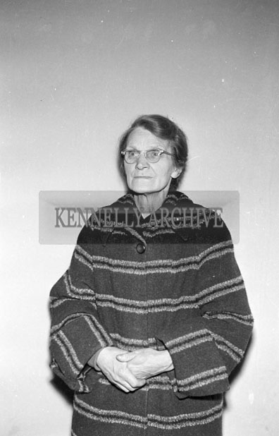 May 1957; A studio photo of a woman.
