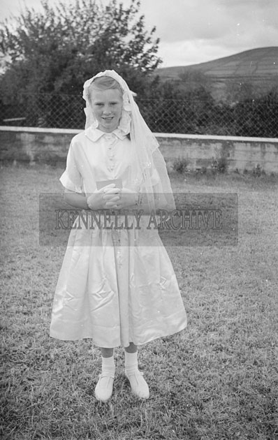 6th May 1957; A photo taken on confirmation day in Annascaul.