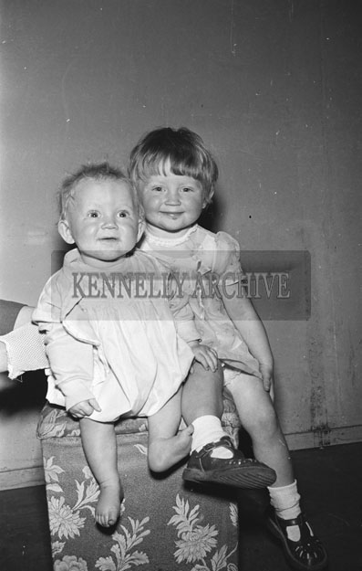May 1957; A photo of the Behan children Castleisland, taken in the studio.