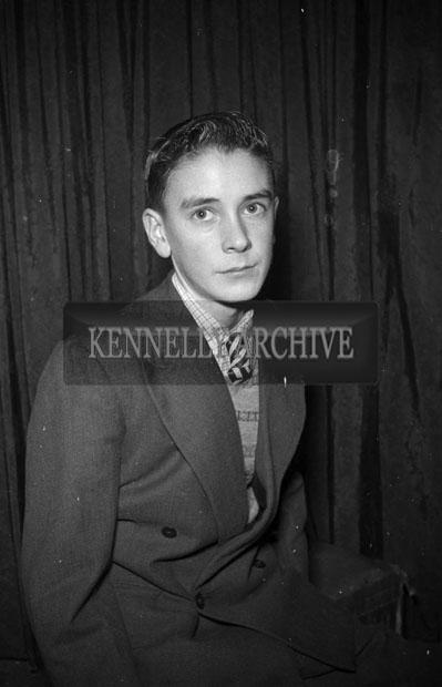 December 1957; A studio photo of Mr. O'Neill.