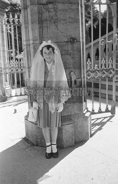 June 1957; A photo taken on Confirmation Day in Newcastlewest.