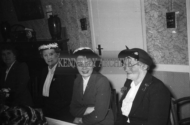 June 1957; A photo taken at the wedding reception of Mr. and Mrs. O'Leary Coolroe, Killarney, in the Meadowlands Hotel, Tralee.