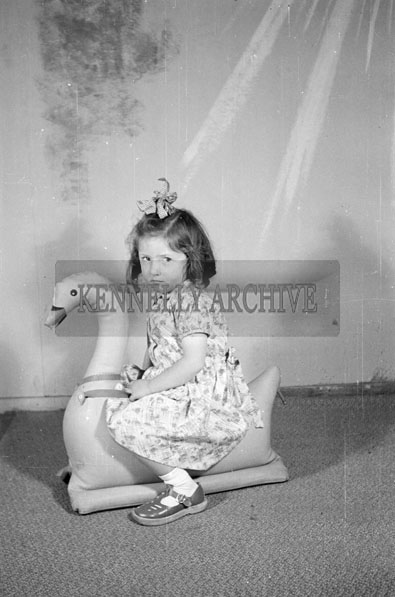 June 1957; A photo of Miss O'Connor, Moyvane, taken in the studio.