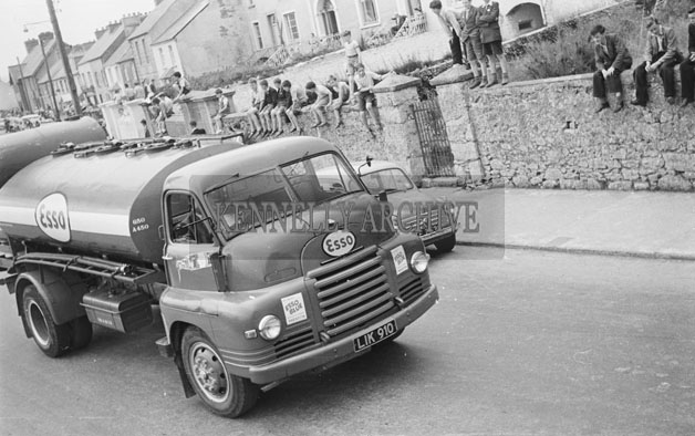 18th June 1957; A photo of the Tralee Trade Show Parade during the Kingdom County Fair.