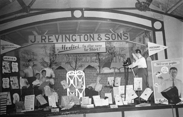 19th June 1957; A Stand at the Trade Fair in the Kingdom County Fair, Ballymullen, Tralee.