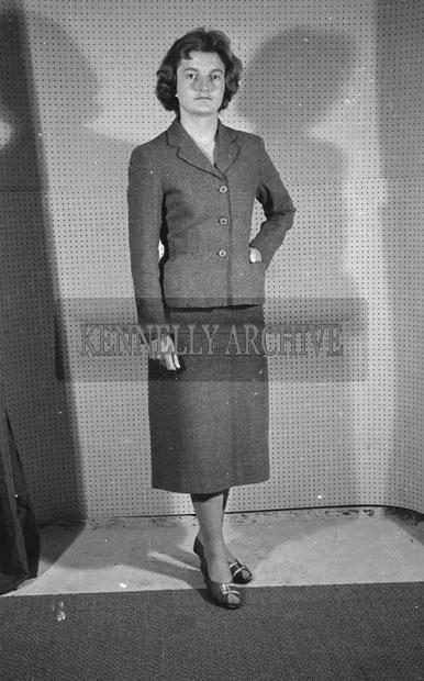 June 1957; A studio photo of Antoinette Williams.
