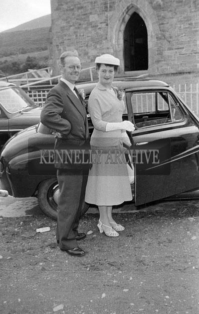June 1957; A photo of a wedding in Glenbeigh.