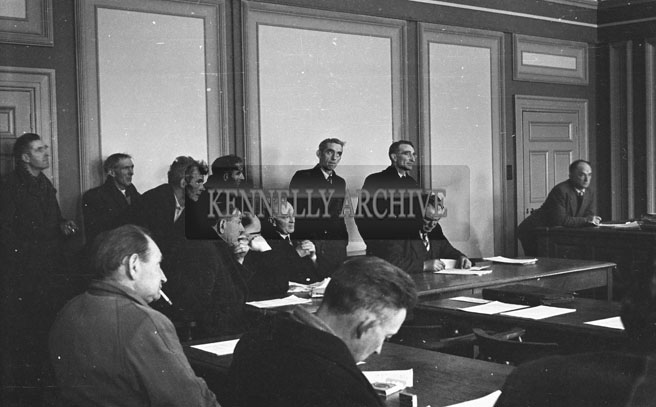 February 1957; A photo of Kerry County Council.