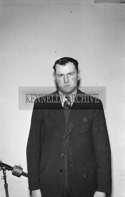 February 1957; A photo of a Man.