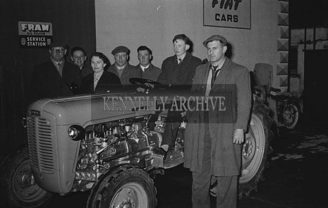 February 1957; A photo of Blennerhassetts Garage, Boherbee, Tralee.