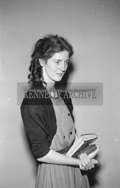 August 1957; A studio photo of Miss O'Connor.