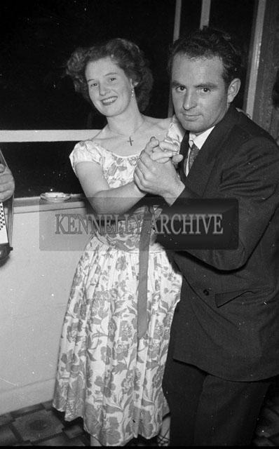 August 1957; Tommy and Celine Horan dancing at a party in their house in Boherbee, Tralee.