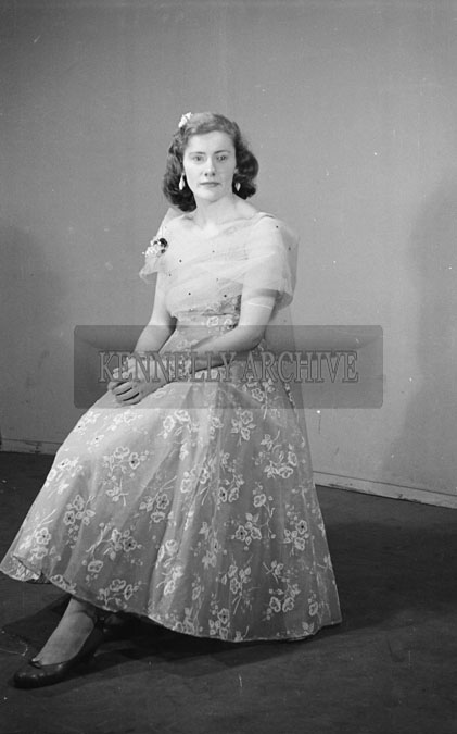 February 1957; A studio photo of Miss Long.