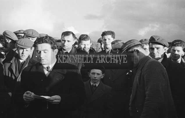 February 1957; A photo of the Farm Walk in Churchill.