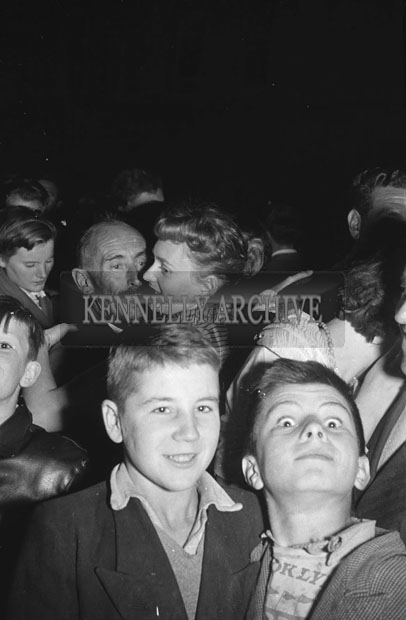 4th September 1957; A photo taken at Tralee Carnival.