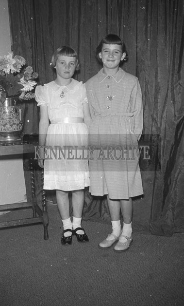 15th September 1957; A photo taken on Confirmation Day at Strand Street School.