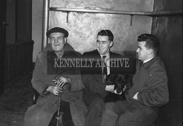 5th March 1957; A photo of people enjoying themselves at The TCLS (Tralee) Dress Dance in The Lake Hotel, Killarney.