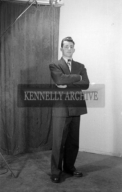 17th March 1957; A studio photo of Mr. Lovett, Boherbee.