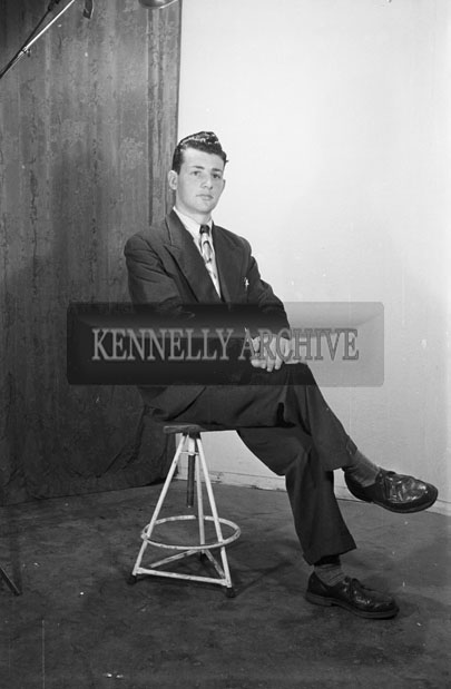 17th March 1957; A studio photo of Mr. Lovett, Boherbee.