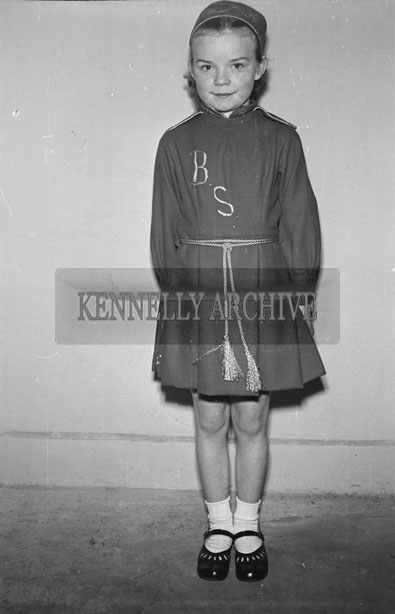 17th March 1957; A Photo of Irish Dancer Phil Duggan at a concert in the Ashe Hall on St. Patrick's night.