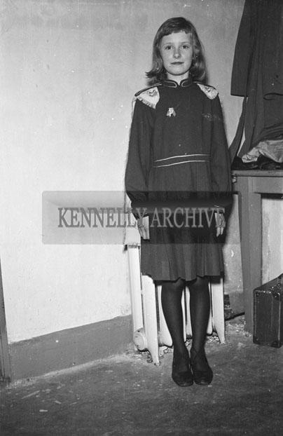 17th March 1957; A Photo of Irish Dancer