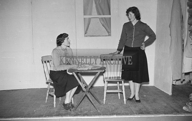 March 1957; A photo of a play in Ballymacelligott.