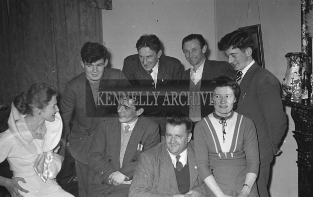6th April 1957; A photo of Moira Griffin, Castleisland, winner of the National Goldwyn Girl Competition.