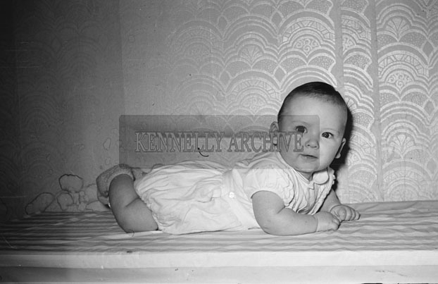 April 1957; A photo of Baby Laide, taken at home.