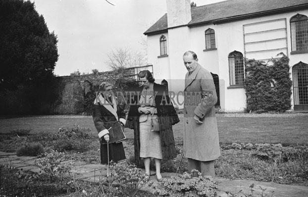 April 1957; A photo of Miss Petit's House, Dunloe Castle, Beaufort.