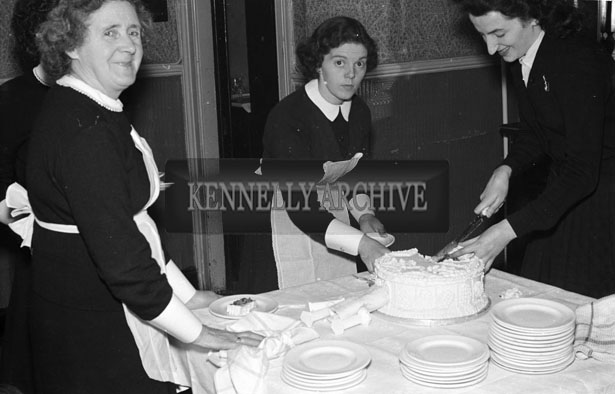 May 1957; A Photo taken at the wedding reception of Miss Conroy, and Mr. McCarthy in The Central Hotel, Ballybunion.