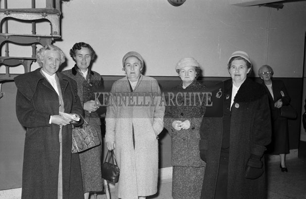November 1957; A meeting of the Kerry Federation of the I.C.A.