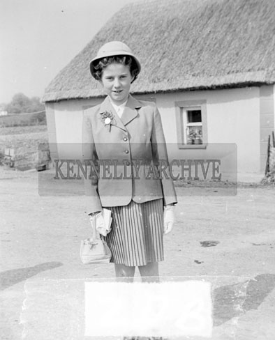 May 1957; A photo taken of Tarbert Confirmations, held in Moyvane.