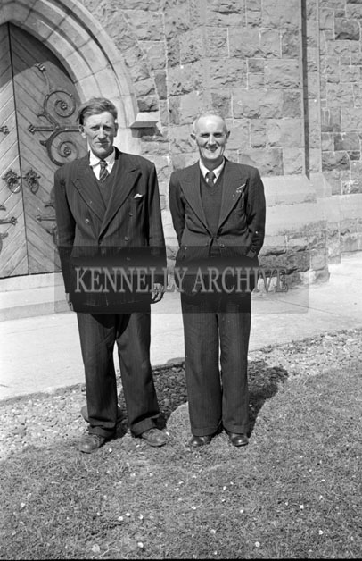 May 1957; A photo taken at the confirmations in Ballybunion.