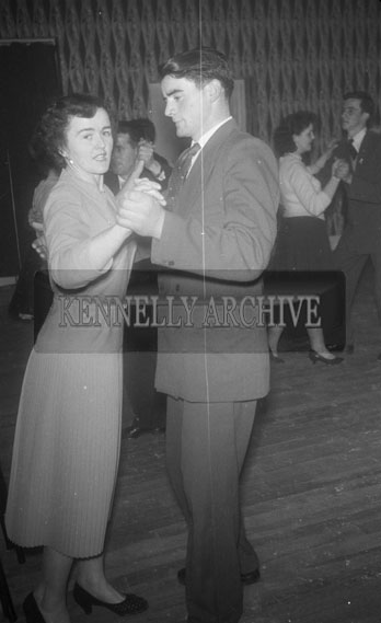 30th November 1958; People enjoying the night at the Macra na Feirme County Dance which took place at the Hotel Manhattan in Tralee.