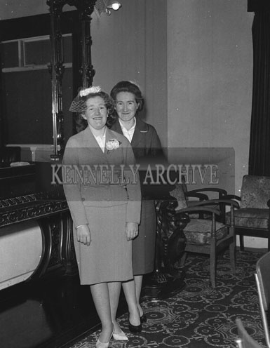 January 1962; A photo taken at a wedding reception which took place at the Grand Hotel in Tralee.