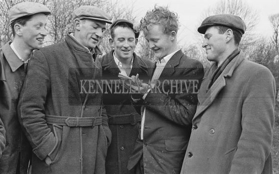 23rd January 1962; A photo taken at a Ploughing Match which took place in Ardert.