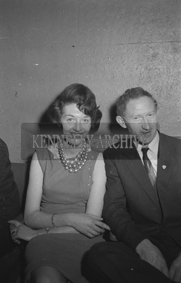 12th October 1962; People enjoying the night at a dance which took place at the Ashe Memorial Hall in Tralee. Music at the dance was provided by Gay McIntyre.