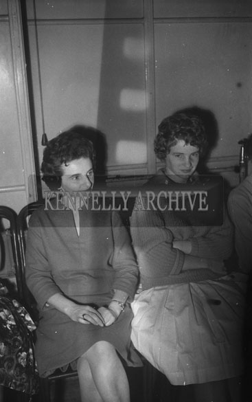 14th October 1962; People enjoying the night at a dance which took place at the CYMS Hall in Tralee.