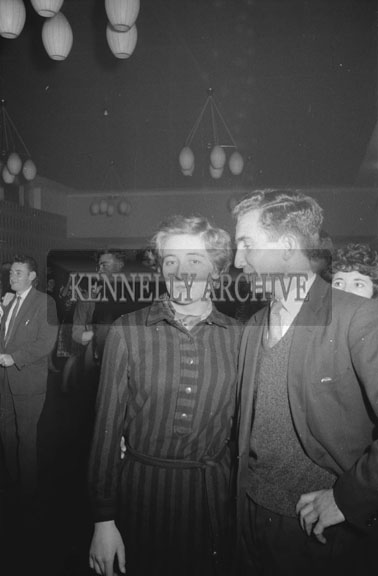 17th October 1962; People enjoying the night at a dance which took place at the Hotel Manhattan where music was performed by the Swing Commandos.