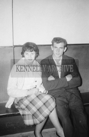 17th October 1962; People enjoying the night at a dance which took place in Ballyheigue.